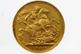 1904 Perth Mint Gold Full Sovereign in Very Fine Condition