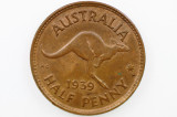 1939 Roo Half Penny George VI Low Mint in aUnc Condition
