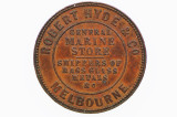 Hyde, Robert and Co Half Penny Token in Very Fine Condition
