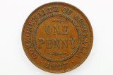 1927 Penny George V in Very Fine Condition