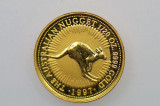 1997 1/20oz 9999 Gold Nugget Kangaroo $5 Uncirculated Coin