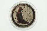 2012 1oz 9995 Platinum Australian Platypus $100 Uncirculated Coin