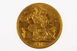 1914 Sydney Mint Gold Full Sovereign in Extremely Fine Condition