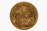 1894 Melbourne Mint Gold Full Sovereign in Almost Very Fine Condition
