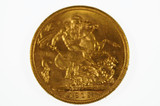 1912 Sydney Mint Gold Full Sovereign in Very Fine Condition