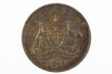 1919 Threepence George V in Fine Condition