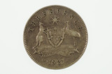 1921 M Threepence George V in Almost Very Fine Condition