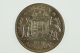 1941 Florin George VI in Almost Uncirculated Condition