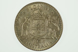 1944 S Florin George VI in Uncirculated Condition