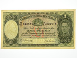 1942 One Pound Armitage / McFarlane Banknote in Very Fine Condition