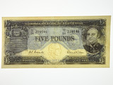 1960 Five Pounds Coombs / Wilson Banknote in Extremely Fine Condition