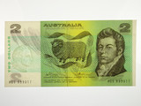 1974 Two Dollars Phillips/Wheeler Banknote in Extremely Fine Condition