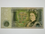 Great Britain 1978-84 One Pound Banknote in Uncirculated Condition