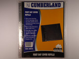 Cumberland First Day Cover Refills 1 Division Packet of 10 Pages