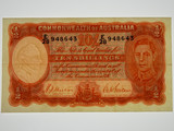 1939 Ten Shillings Sheehan/MacFarlane Banknote in Very Fine Condition