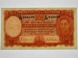 1939 Ten Shillings Sheehan/MacFarlane Banknote in Very Fine Condition