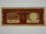 1934 Ten Pounds Riddle/Sheehan Banknote in Almost Very Fine Condition