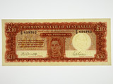 1943 Ten Pounds Armitage / McFarlane Banknote in Extremely Fine Cond