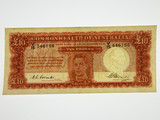 1949 Ten Pounds Coombs / Watt Banknote First Prefix V/15