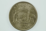 1944 Florin George VI in Uncirculated Condition