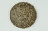 1920 Sixpence George V in Almost Fine Condition