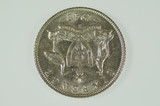 1942 S Sixpence George VI in Almost Uncirculated Condition