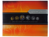 2012 Royal Australian Mint Six Coin Uncirculated Set