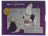 2007 Royal Australian Mint the Magic Pudding Baby Uncirculated Coin Set