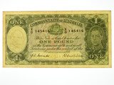 1952 One Pound Coombs / Wilson Banknote in Very Fine Condition