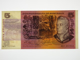 1969 Five Dollars Phillips / Randall Banknote in Very Fine Condition