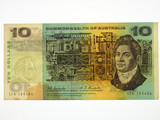 1967 Ten Dollars Coombs / Randall Banknote in Very Good Condition