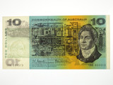1966 Ten Dollars Coombs / Wilson First Prefix SAA Banknote