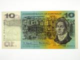 1966 Ten Dollars Coombs / Wilson First Prefix SAA Banknote