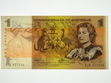 1972 One Dollar Phillips / Wheeler Banknote in aUnc Condition