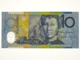 1994 Ten Dollars Fraser / Evans First Prefix AA94 Banknote
