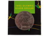 1992 Barcelona Olympic Games One Dollar Silver Proof Coin