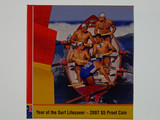 2007 Year of The Surf Lifesaver Five Dollar Fine Silver Proof Coin