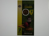1882 - 2007 The Ashes One Dollar Uncirculated Coin