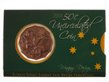 2004 Primary School Student Native Fauna 50 Cents Uncirculated Coin