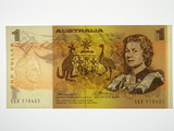 1976 One Dollar Knight/Wheeler Centre Thread Banknote in Unc Condition