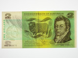 1972 Two Dollars Phillips/Wheeler Banknote in Uncirculated Condition
