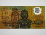 1988 Ten Dollars Johnston/Fraser First Release Banknote in Unc Condition