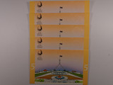 1992 $5 Paper & Polymer First & Last Consecutive Run of Five Banknote Folders