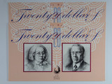 1994 $20 Fraser/Evans Paper & Polymer First & Last Consecutive Pair of Banknote