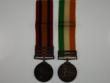 Queen's South Africa Medal 1899 and King's South Africa Medal 1902 Pair