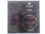 2004 Masterpieces in Silver 20 Years of the Australian Dollar Proof Coin Set