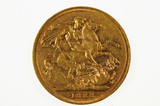 1888 Melbourne Mint Gold Full Sovereign in Fine Condition