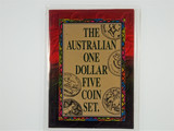 1984 - 1992 The Australian One Dollar Five Coin Set