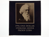 1996 Sir Henry Parkes One Dollar Sterling Silver Proof Coin