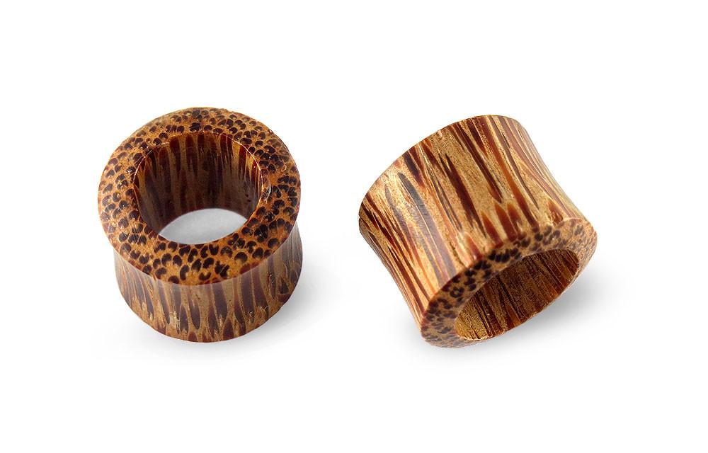 Scrap Metal 23 Pair Coconut Wood Plugs 18mm 11//16
